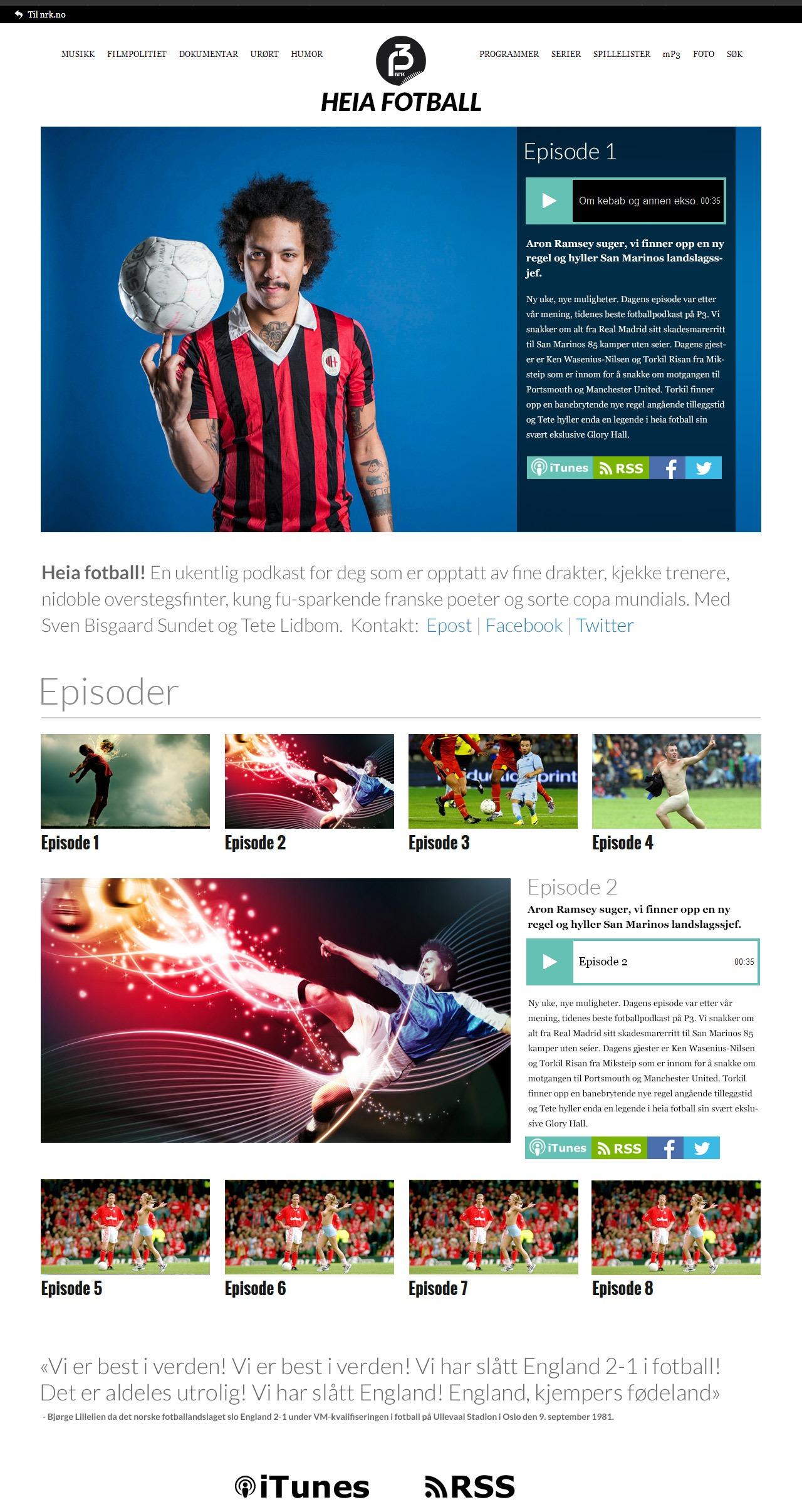 Heia Fotball designskisse
