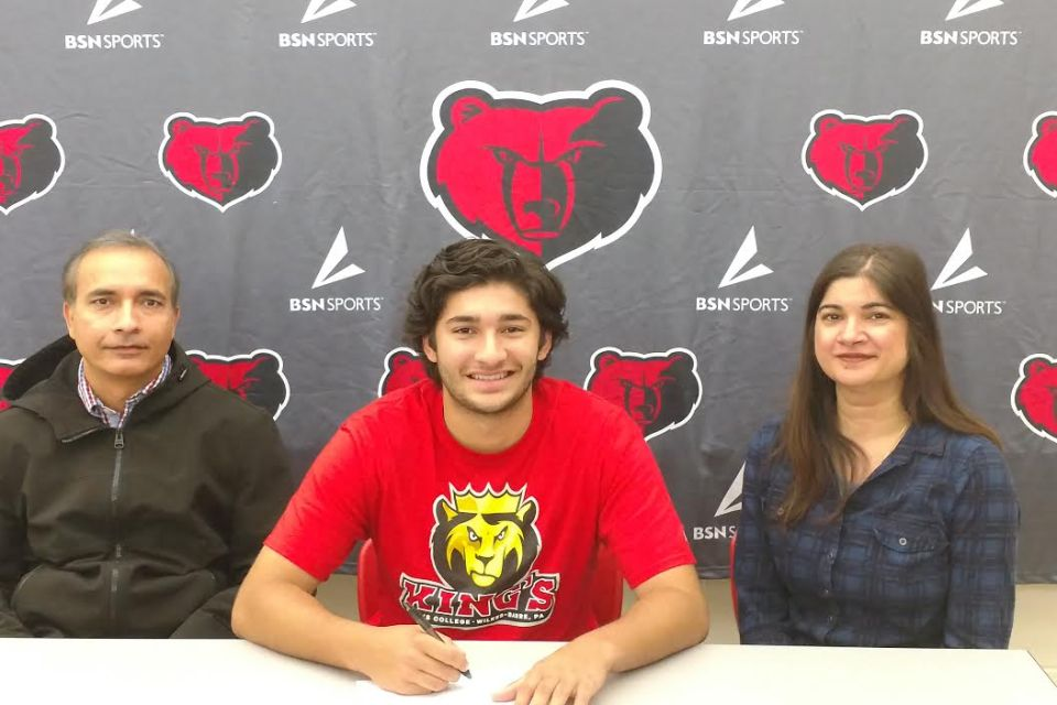 Boyertown's Nikhil Verma commits to King's College