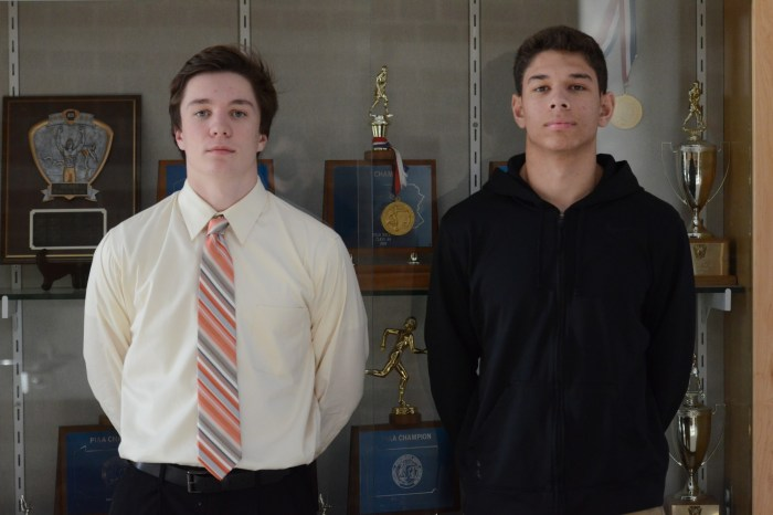 Sturm and Jaworski left Perk Valley as best duo in area history; earn POY honors