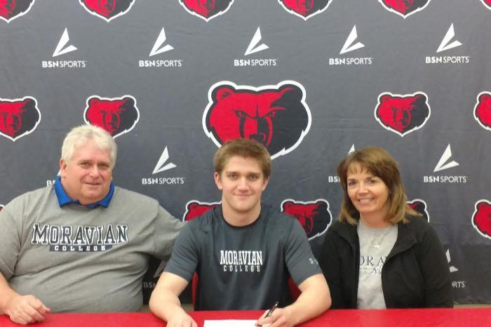 Boyertown's Kyle Kooker selects Moravian College