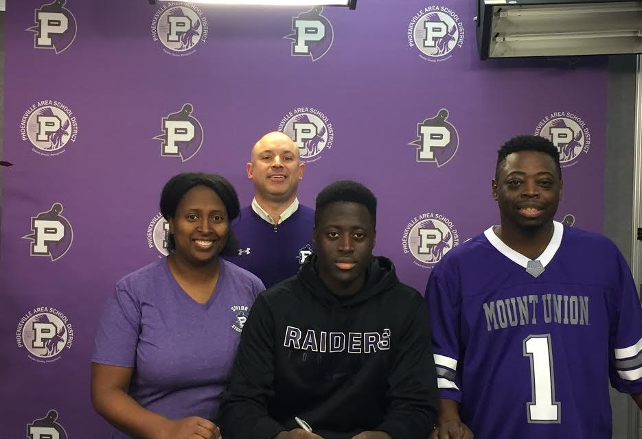 Phoenixville's Nasir Green signs on with Mount Union
