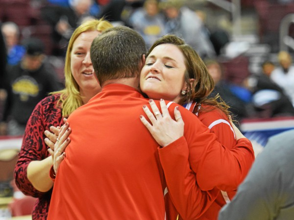 Boyertown's Kelly Furman leads as though she's been there before