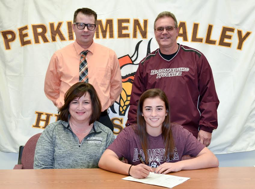 Perkiomen Valley's Abby Wild signs on with Bloomsburg