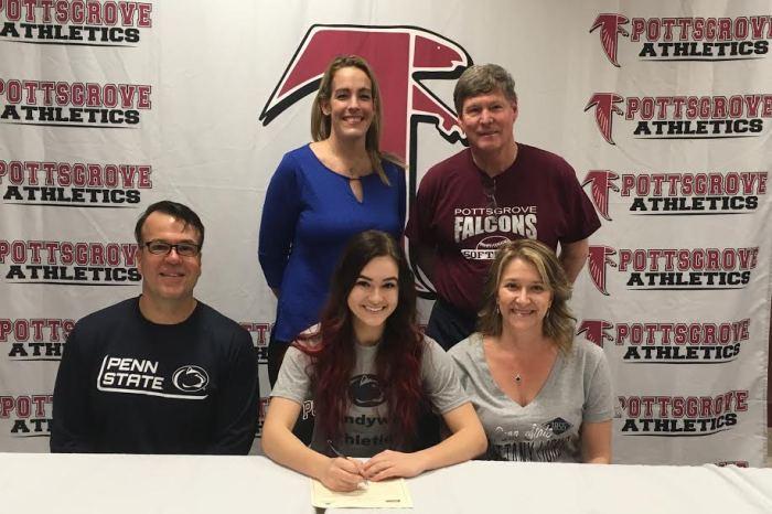 Pottsgrove senior Rachel Cherubini selects Penn State Brandywine