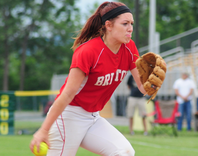 Cara Fabiano represents Bristol well in Phillies Carpenter Cup Softball Tournament