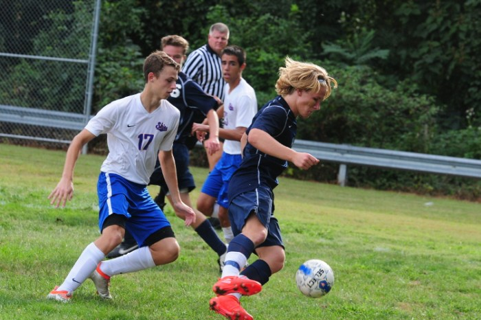 Wounded Nikita Ilin comes through for Council Rock North boys soccer