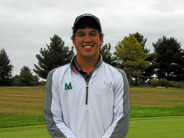 Methacton's Kyle Vance captures third consecutive PAC Individual Boys title