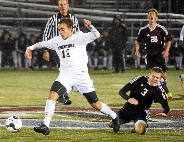 District One boys' soccer: Miller's late goal helps Conestoga keep its record perfect