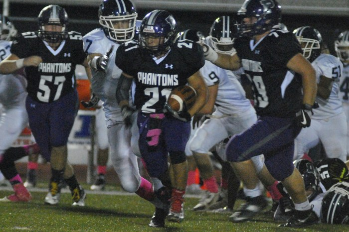Garcia rushes for another 200 yards, Phoenixville tops Pottstown