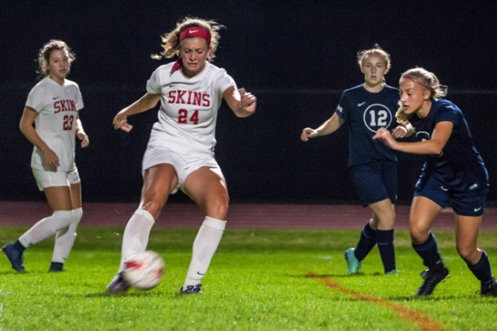 Neshaminy girls soccer wraps regular season up with a win