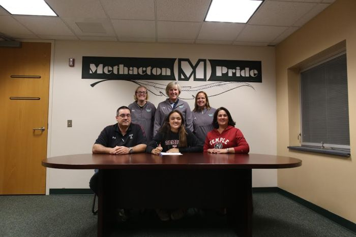 Methacton's Jackie Cerchio signs on with Temple