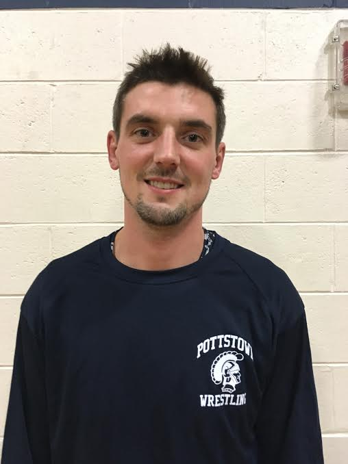 Brad Clarke will be Pottstown's new wrestling coach this season. (Jeff Stover - Digital First Media)