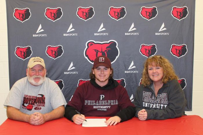 Boyertown ace Pat Hohlfeld signs on with Philadelphia University
