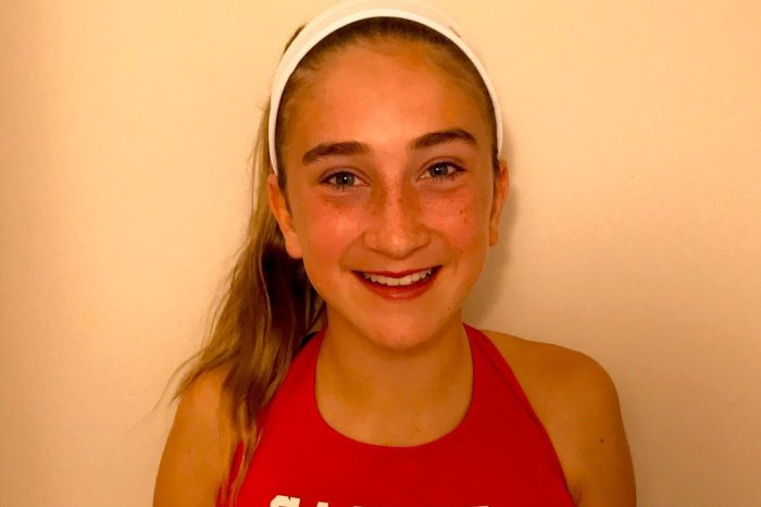 Sacred Heart runner Kayleigh Doyle is Main Line Girls Athlete of the Week