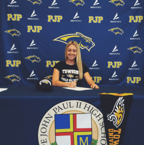 Pope John Paul II's Kendra Sykes signs on with Towson