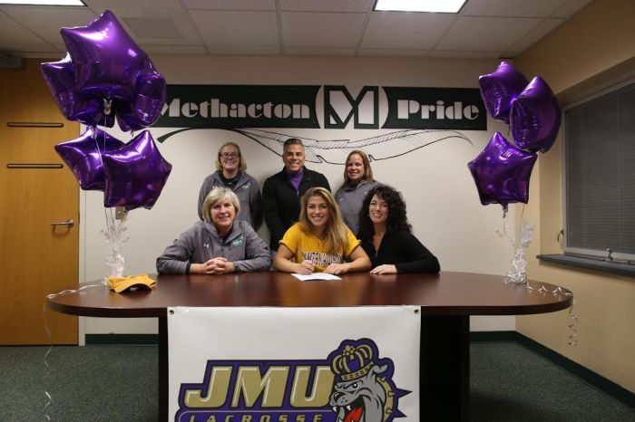 Methacton's Daria Lucchessi commits to James Madison