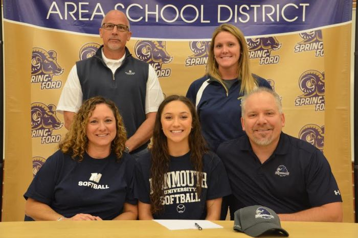 Spring-Ford's Morgan Maziarz commits to Monmouth University