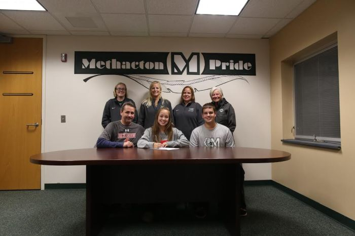 Methacton's Emily Mycek signs on with Dickinson