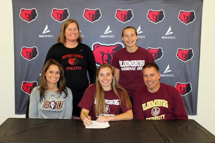 Boyertown's Diachynsky signs with Bloomsburg