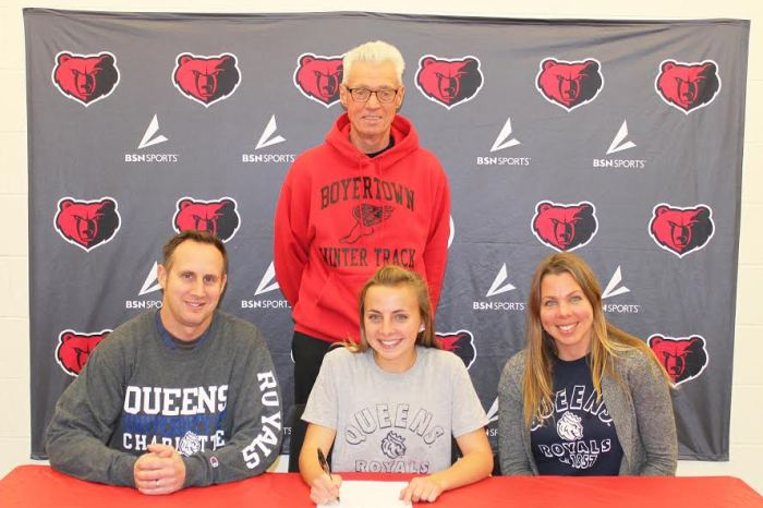 Boyertown's Gillian Kasitz signs with Queens University of Charlotte