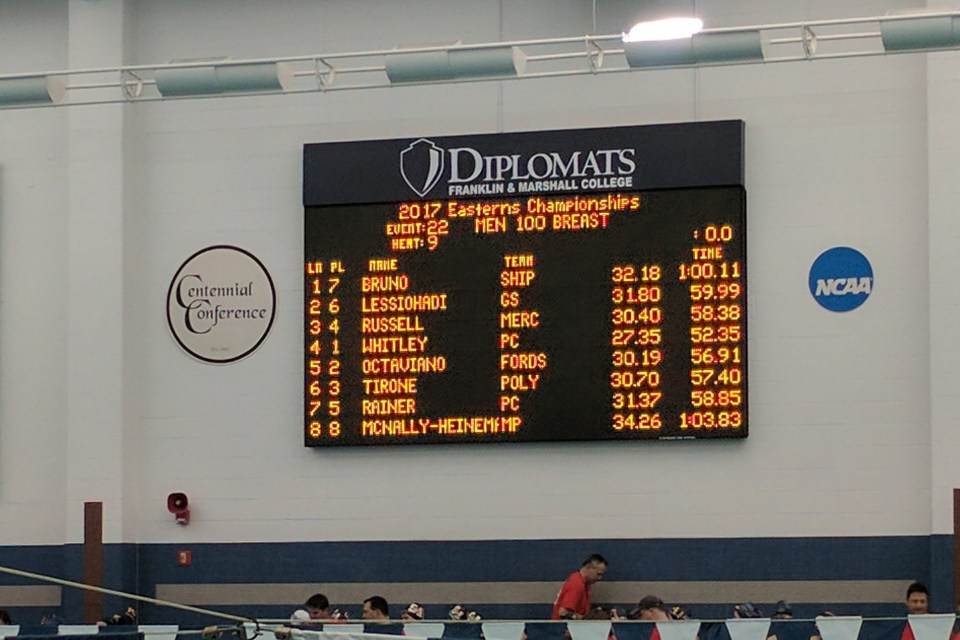 Penn Charter's Whitley sets national high school record at Easterns