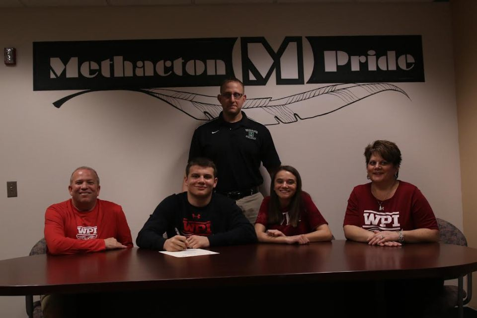 Methacton's Brendan Marion signs on with Worcester Polytechnic Institute