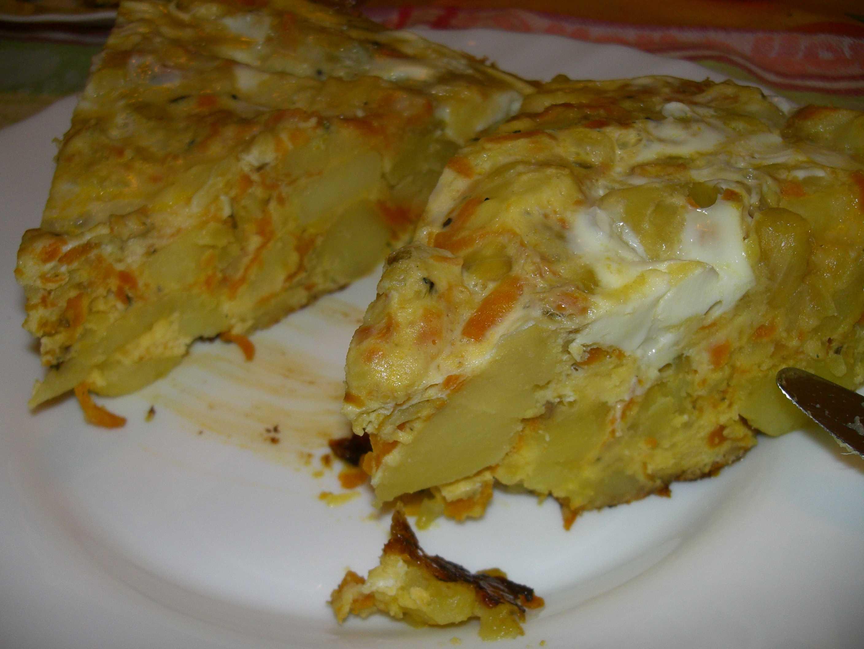 Zwei Achtel Tortilla