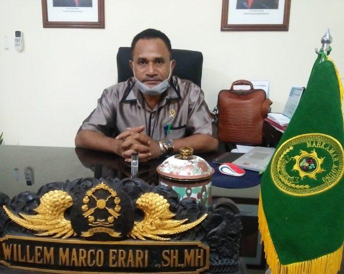 Ketua PN Kelas I B Sorong, Willem Marco Erari