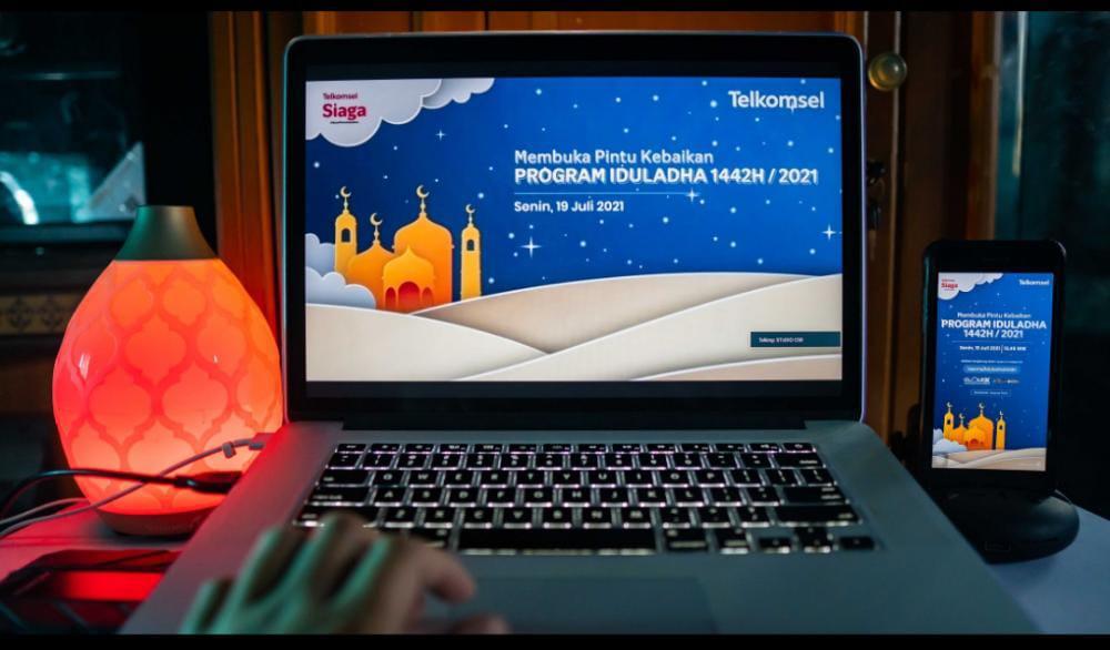 Program Telkomsel buka pintu kebaikan di Hari Raya Idul Adha