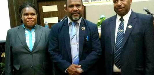 Pimpinan Majelis Rakyat Papua Barat 2017-2022.
