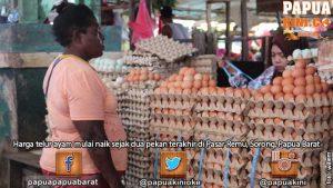 Harga Telur dan Daging Ayam Mulai 'Terbang'