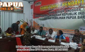 9 Calon DPD RI Papua Barat Memenuhi Syarat Dukungan