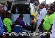 Polres Sorong Bikin Pengurusan SKCK Keliling