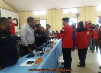 Jam 12 Siang Baru Tujuh Parpol ke KPU Bintuni