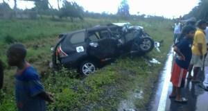 Kecelakaan SP3 Prafi