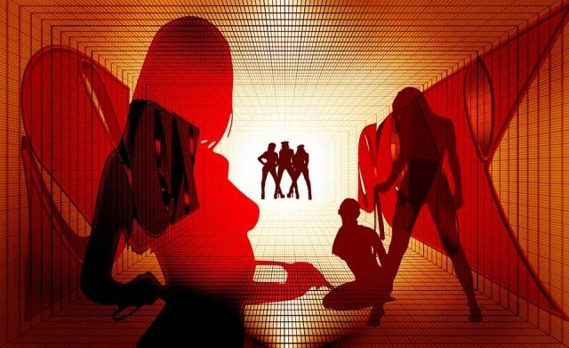 Prostitusi terselubung Sanggeng