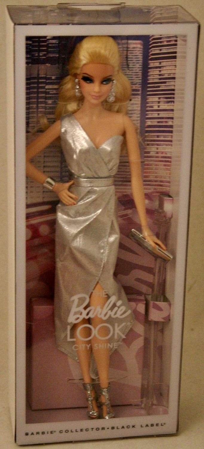 Barbie The Look Silver Dress Doll