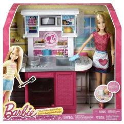 Barbie Kitchen Playset Kohler Sinks Porcelain Deluxe Kitchen3