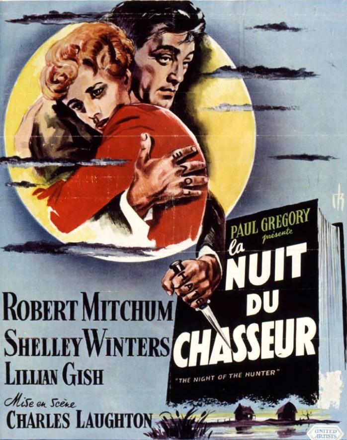 La Nuit Du Chasseur Film : chasseur, CHARLES, LAUGHTON, CHASSEUR, Papyblues