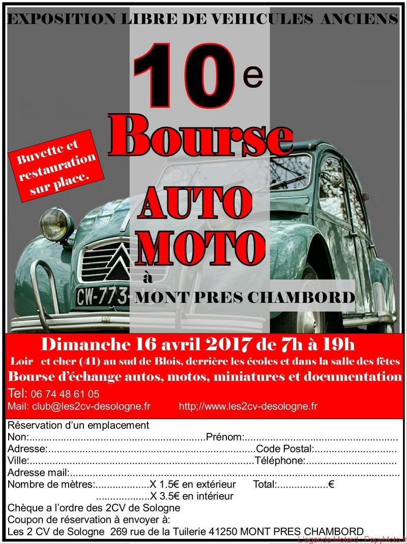 10e bourse Auto Moto – Mont Prés Chambord (41)