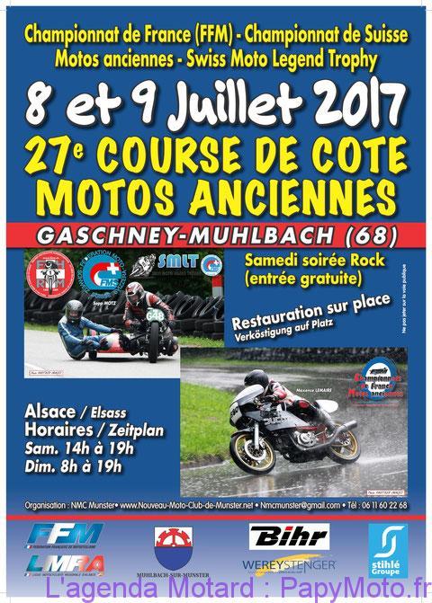 27e Course de Côte Motos Anciennes – Gaschney-Muhlbach (68)