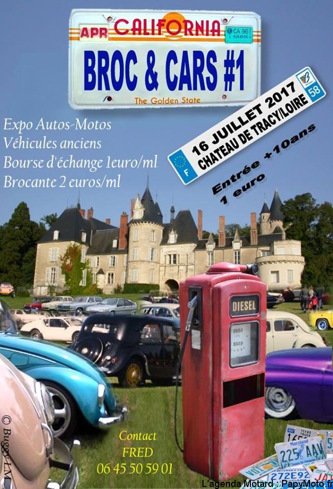 Broc et Cars – Chateau de Tracy (58)