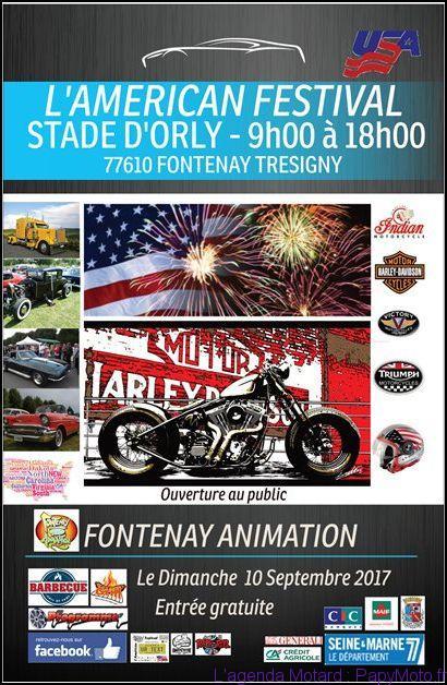 L'américan Festival – Fontenay Tresigny (77)