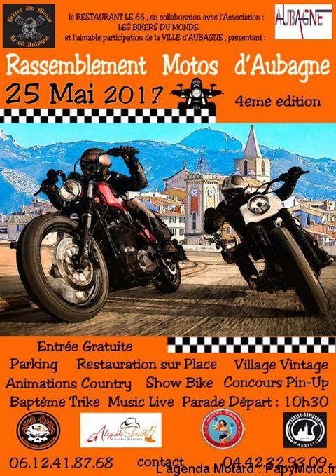 Rassemblement Moto – Aubagne (13)