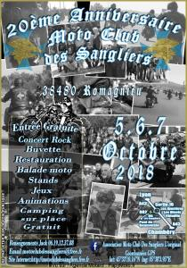 20e Anniversaire Moto Club des Sangliers - Romagnieu (38) @ Romagnieu | Romagnieu | Auvergne-Rhône-Alpes | France