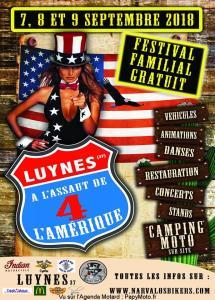 A l'assaut de l'Amérique - Luynes (37) @ Luynes (37) | Luynes | Centre-Val de Loire | France
