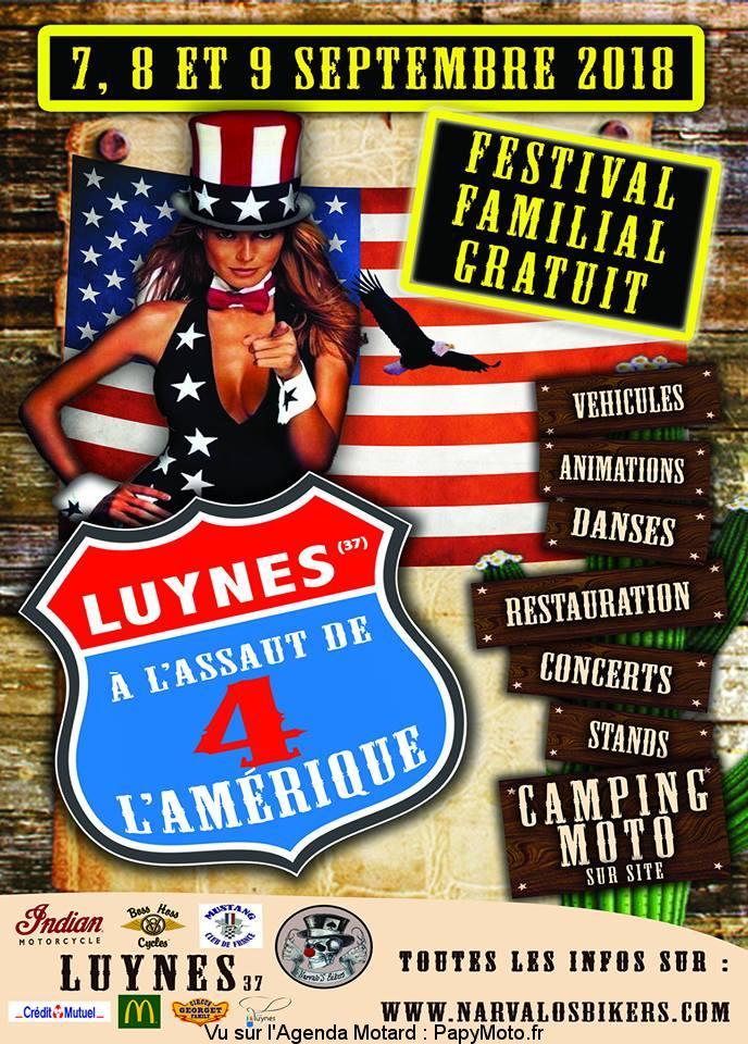 A l'assaut de l'Amérique – Luynes (37)