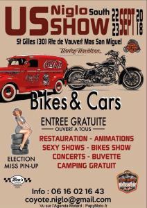 US Niglo Show - Saint Gilles (30) @ Mas san Miguel Route de Vauvert | Saint-Gilles | Occitanie | France