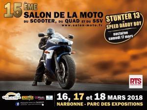 15e Salon de la Moto - Narbonne (11) @ Parc des Expositions | Narbonne | Occitanie | France