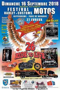 26e Festival Motos Harley & Customs - Evreux (27) @ Hippodrome Parc de Navarre | Évreux | Normandie | France